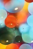 Abstracte kleurrijke waterachtergrond Stock Afbeelding