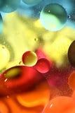 Abstracte kleurrijke waterachtergrond Stock Foto's