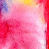 Abstracte kleurrijke waterverf voor achtergrond Het digitale kunst schilderen Stock Foto