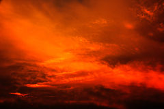 Abstracte kleurrijke zonsondergang Royalty-vrije Stock Foto