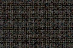 Abstracte kleurrijke zwarte achtergrond Stock Afbeelding