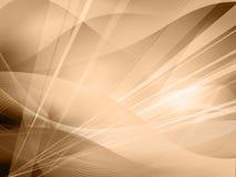 Abstracte Koele golven royalty-vrije illustratie