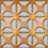 Abstracte Koffiebonen - Binnenlands Ontwerpbehang stock illustratie