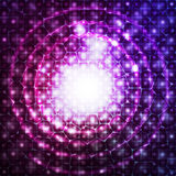Abstracte kosmische achtergrond Royalty-vrije Stock Fotografie