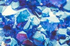 Abstracte Kristallen Stock Foto's