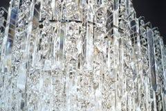 Abstracte kristallenachtergrond Royalty-vrije Stock Foto