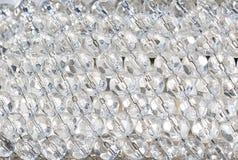 Abstracte kristallenachtergrond Royalty-vrije Stock Afbeeldingen