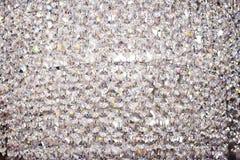 Abstracte kristallenachtergrond Stock Afbeelding