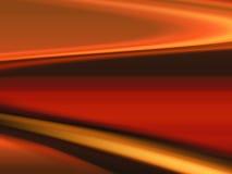 Abstracte krommen stock illustratie