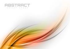 Abstracte krommen Stock Afbeelding