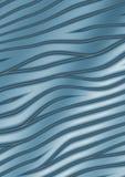 Abstracte krommen - blauwe achtergrond royalty-vrije illustratie