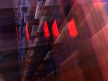Abstracte kubieke achtergrond Royalty-vrije Stock Foto's