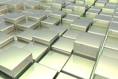Abstracte kubus Stock Foto