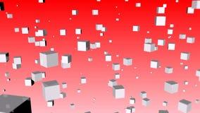 Abstracte kubus royalty-vrije illustratie