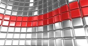Abstracte kubussen Royalty-vrije Stock Afbeelding