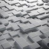 Abstracte kubussen vector illustratie