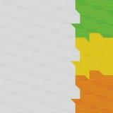 Abstracte kubussenachtergrond Royalty-vrije Stock Afbeelding