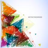 Abstracte kunst vectorachtergrond Vector Illustratie