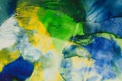 Abstracte kunstachtergrond Stock Afbeelding