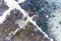 Abstracte kunstachtergrond Royalty-vrije Stock Fotografie