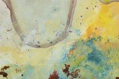 Abstracte kunstachtergrond Royalty-vrije Stock Foto