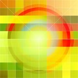 Abstracte kunstachtergrond vector illustratie