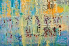 Abstracte kunstachtergronden stock illustratie