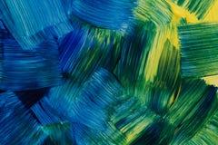 Abstracte kunstachtergronden Met de hand geschilderde achtergrond GEMAAKT ZELF Stock Foto's