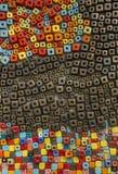 Abstracte kunsttextuur en samenstelling Stock Foto