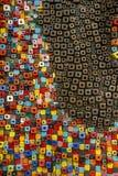 Abstracte kunsttextuur en samenstelling Stock Foto's