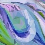 Abstracte lage polyachtergrond Stock Afbeeldingen