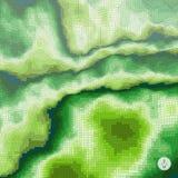 Abstracte landschapsachtergrond mozaïek Royalty-vrije Stock Foto's