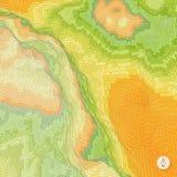 Abstracte landschapsachtergrond mozaïek Stock Afbeelding
