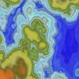 Abstracte landschapsachtergrond mozaïek vector illustratie