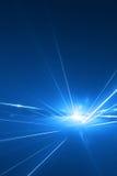 Abstracte laserachtergrond Stock Afbeelding