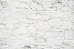 Abstracte lege achtergrond Foto van de witte lege textuur van de steenmuur Lege cementoppervlakte horizontaal royalty-vrije stock foto