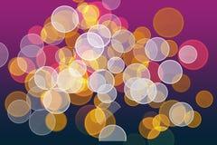 Abstracte lichte achtergrond. bokeh. vector illustratie