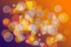 Abstracte lichte achtergrond. bokeh. royalty-vrije illustratie