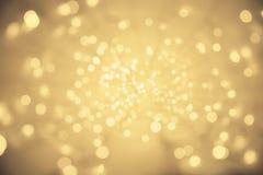 Abstracte Lichte Achtergrond, het Verdwijnen het Perspectief van de Puntverlichting Royalty-vrije Stock Foto