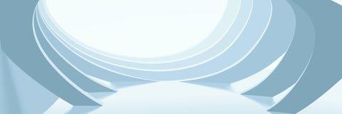 Abstracte lichte architecturale achtergrond vector illustratie