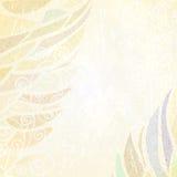 Abstracte lichte beige bloemenachtergrond Royalty-vrije Stock Fotografie