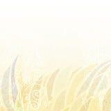 Abstracte lichte beige bloemenachtergrond Royalty-vrije Stock Afbeeldingen