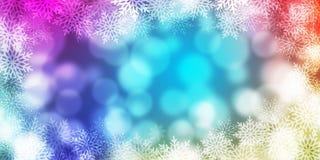 Abstracte Lichte Bokeh-Achtergrond Stock Afbeelding