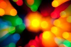 Abstracte lichte explosie stock foto's