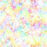Abstracte lichte kleurrijke rook op witte achtergrond Veelkleurige wolken Regenboog bewolkt patroon onduidelijk beeldtextuur Naad stock illustratie