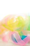Abstracte lichte lintachtergrond Royalty-vrije Stock Afbeeldingen