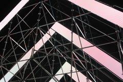 Abstracte lichte panelen stock foto's