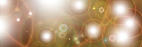 Abstracte lichte samenstelling Vector Illustratie