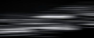 Abstracte lichte slepen in dark, het effect van het motieonduidelijke beeld royalty-vrije illustratie