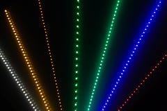 Abstracte Lichte Stralen Stock Afbeeldingen
